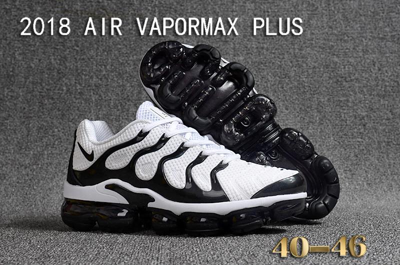 56de202403 Prev Nike Air Vapor Max Plus TN TPU Running Shoes Hot White Black. Zoom