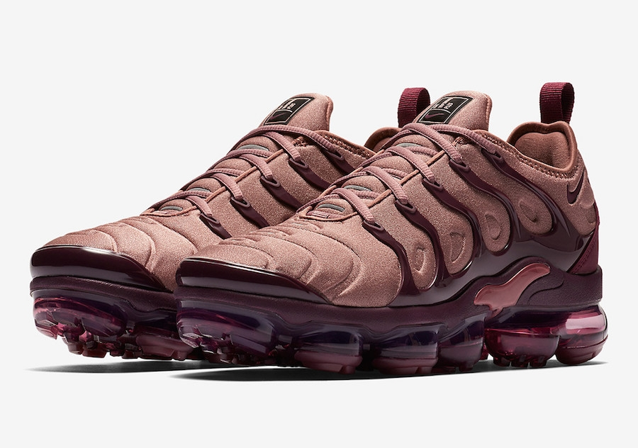 ad404cf8679a Prev Nike WMNS Air VaporMax Plus Smokey Mauve Smokey Mauve Bordeaux Vintage  Wine Black AO4550 200. Zoom