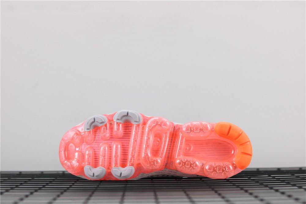innovative design 26f15 3da02 2019 Nike Air VaporMax Flyknit 3 Grey Orange AJ6900-106