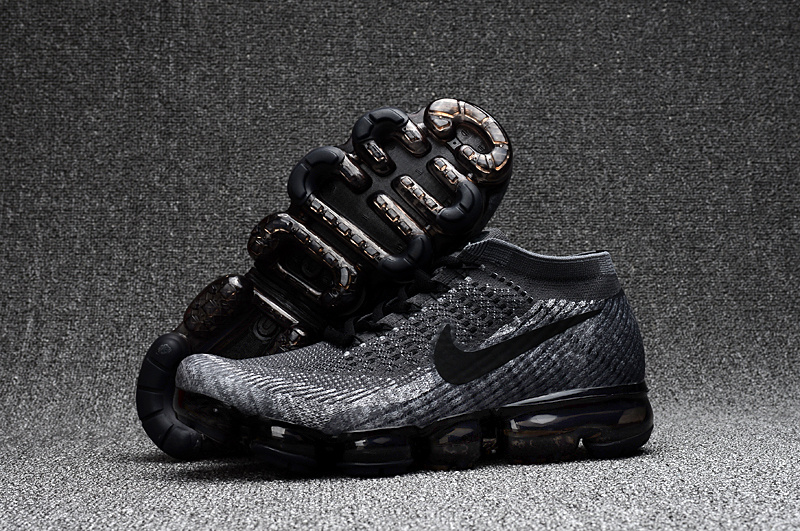 4aa508e0a2799 Prev Nike Air VaporMax 2018 Grey Wolf black men Running Shoes 849558-101.  Zoom