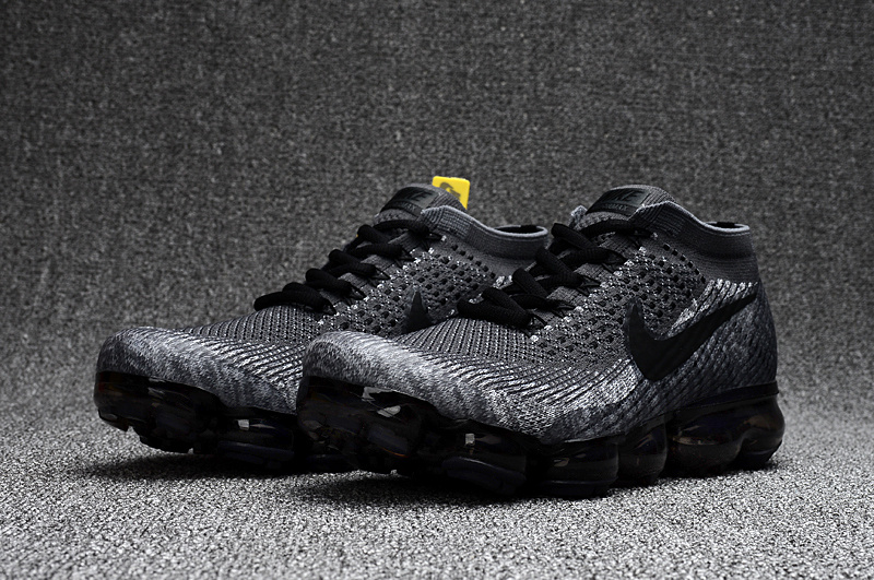 bd8dddf293942 ... Nike Air VaporMax 2018 Grey Wolf black men Running Shoes 849558-101 ...
