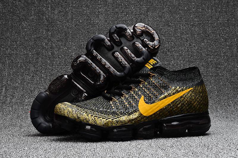 san francisco 2f62c 13465 Prev Nike Air VaporMax 2018 black gold men Running Shoes 849558-070. Zoom