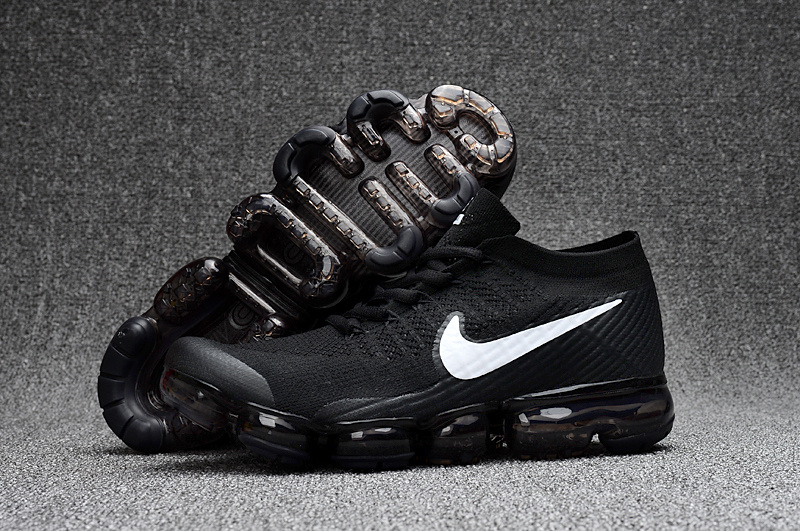 new styles d64fe 180ab Prev Nike Air VaporMax 2018 black white Running Shoes 849558-010. Zoom