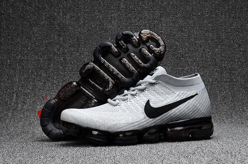 newest 788c6 b5363 Prev Nike Air VaporMax 2018 light Grey black men Running Shoes 849558-100.  Zoom