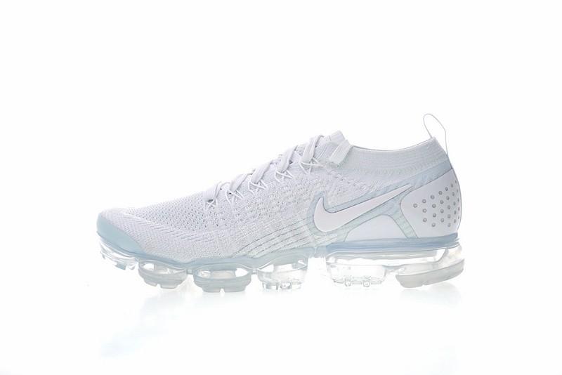 fa95b8fd66c6 Prev Nike Air VaporMax Flyknit 2.0 White Vast Grey Running Shoes 942842-105