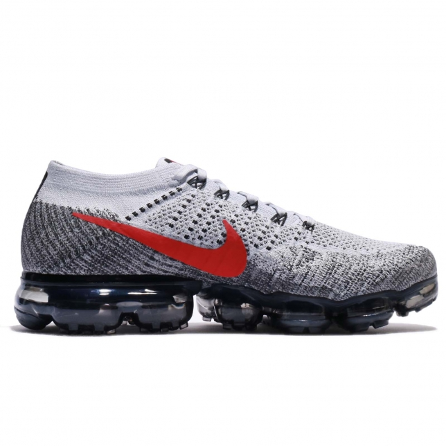 a7cd63b832 Nike Air VaporMax Heritage OG Pure Platinum University Red 849558 ...