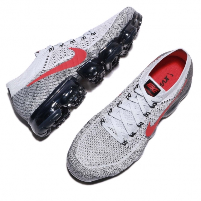 b2e3318b75e ... Nike Air VaporMax Heritage OG Pure Platinum University Red 849558-020  ...