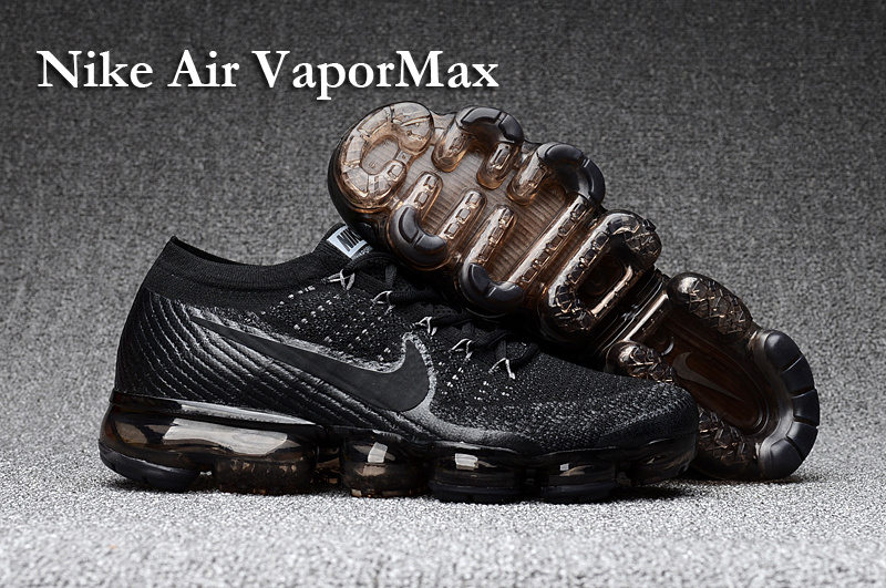 quality design 92a92 73ada Prev Nike Air VaporMax Men Women Running Shoes Sneakers Trainers Pure Black  849560-001. Zoom