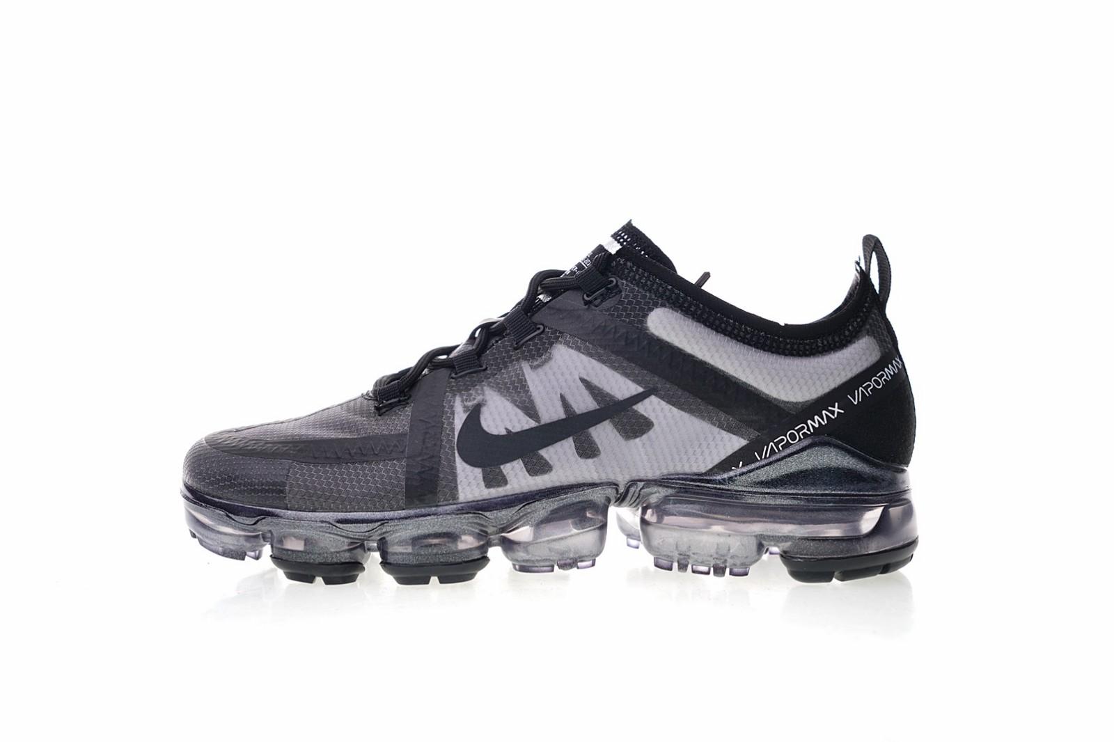 cd4034df9545b Nike Air VaporMax VM3 2019 Triple Black Metallic AR6631-004 - Febbuy