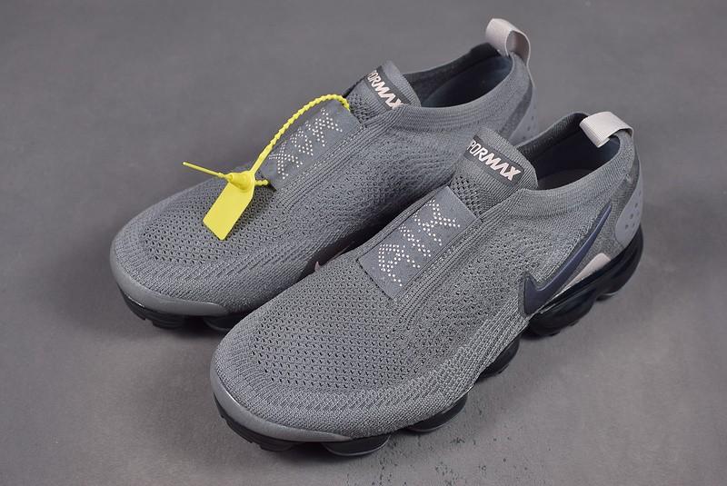 91727c1e9ad6f Nike Air Vapormax Flyknit Moc 2 Dark Grey Black AH7006-003 - Febbuy