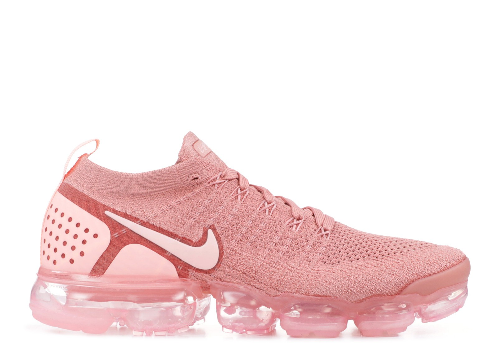 f52d5d02530 Prev W Nike Air Vapormax Flyknit 2.0 Rust Pink Pink Tint Storm Rust 942843- 600