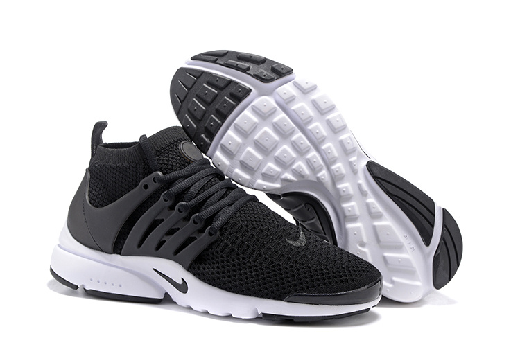 new product 8282a d16c4 Nike Air Presto Flyknit Ultra Black White Running Shoes Sneakers ...