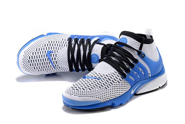 Nike Air Presto Flyknit Ultra Men Shoes Atlantic Blue White Run New  835570-401