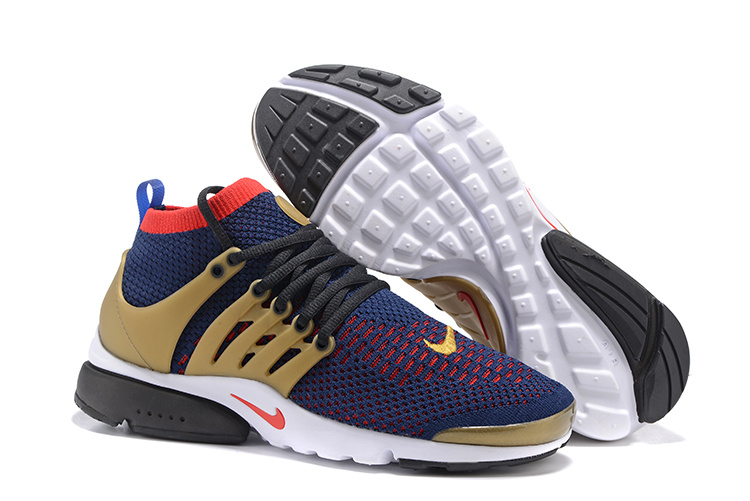 e91aeabd010 Nike Air Presto Flyknit Ultra NSW Running USA Olympic Navy Red Gold ...