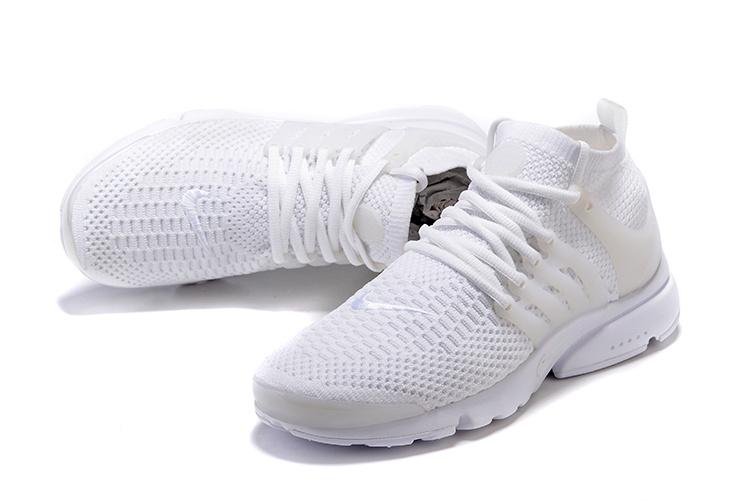 Nike Air Presto Flyknit Ultra Triple White Men Women Shoes Limited Edition  835570-100