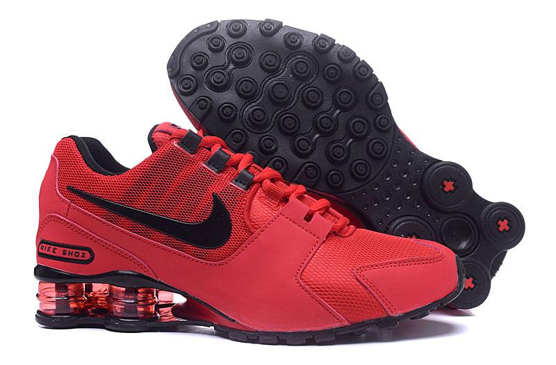 best service 0a505 96cca Prev Nike Air Shox Avenue 802 Red Black Men Shoes. Zoom