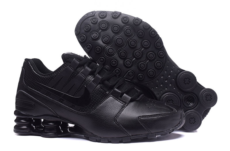 eb2bebaf8eb2b4 Prev Nike Air Shox Avenue 803 all black men Shoes. Zoom. Move your mouse  over image or click to enlarge