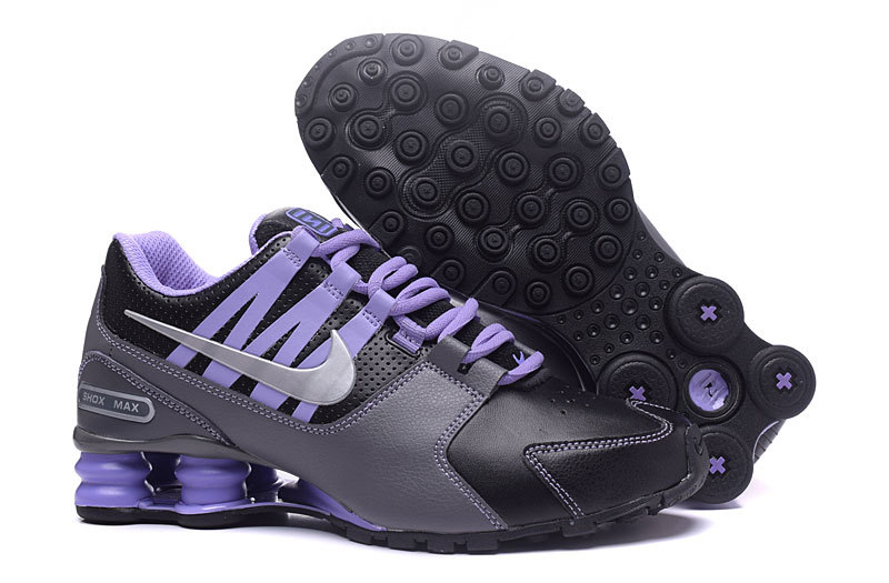 dbb9266edc9357 Prev Nike Air Shox Avenue 803 black ash purple women Shoes. Zoom. Move your  mouse over image or click to enlarge