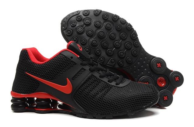 Nike Shox Current 807 Net Men Shoes Black Red - Febbuy ed666df9e