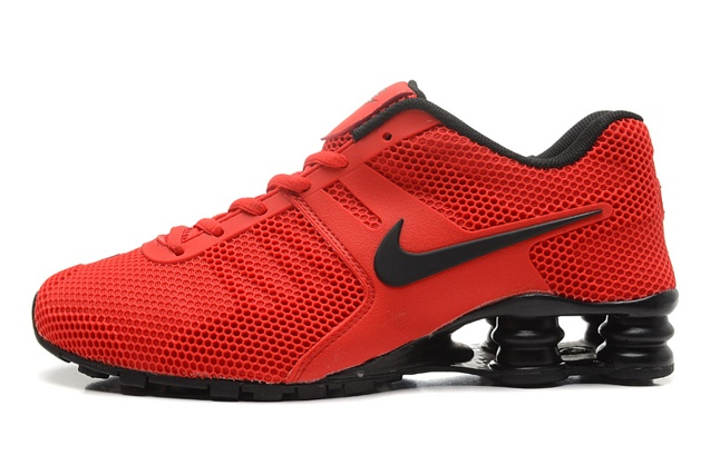 Nike Shox Current 807 Net Men Shoes University Red Black - Febbuy d6c365249