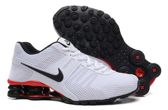 new product bdc90 0e4ba ... closeout nike shox current 807 net men shoes black white 5b353 e7dc7