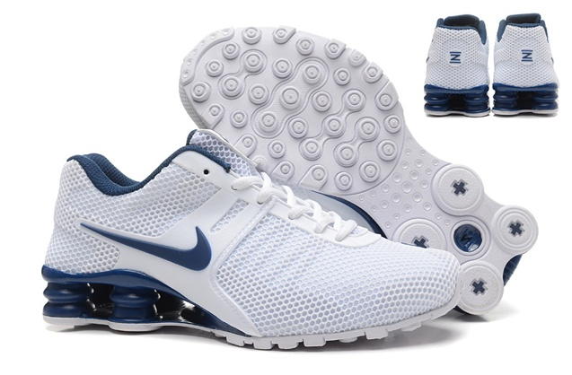... Nike Shox Current White Black Shoes Excellent quality 377fdb6eb