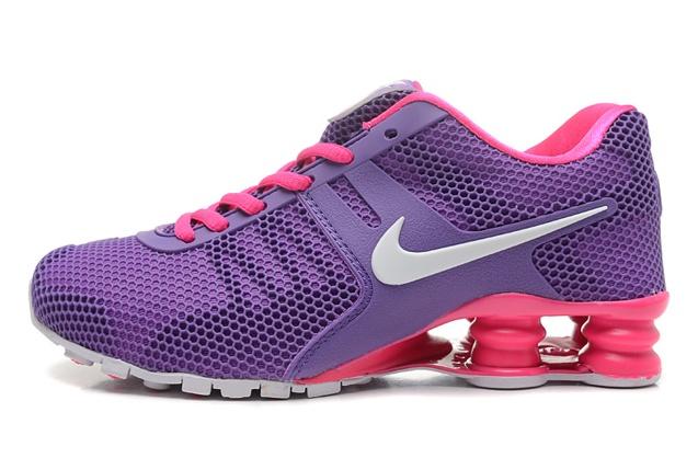 Nike Shox Current 807 Net Women Shoes Purple Pink Red White - Febbuy 4123d1aeb