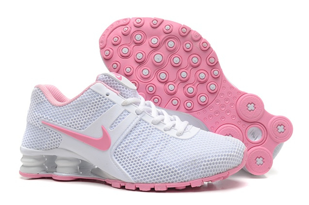 Nike Shox Current 807 Net Women Shoes White Pink - Febbuy d4a70c7b8