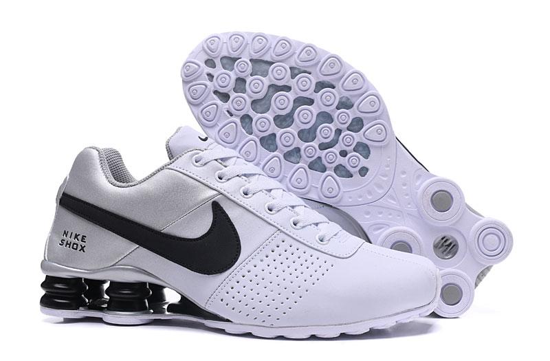 timeless design 1954e 033fe Prev Nike Air Shox Deliver 809 Men Running shoes White Black. Zoom