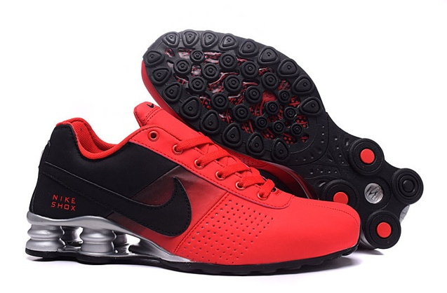 57adb0bba8cc Prev Nike Shox Deliver Men Shoes Fade Red Black Silver Casual Trainers  Sneakers 317547