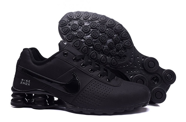 buy online 42397 6bc35 Prev Nike Shox Deliver Men Shoes Total Black Casual Trainers Sneakers  317547. Zoom