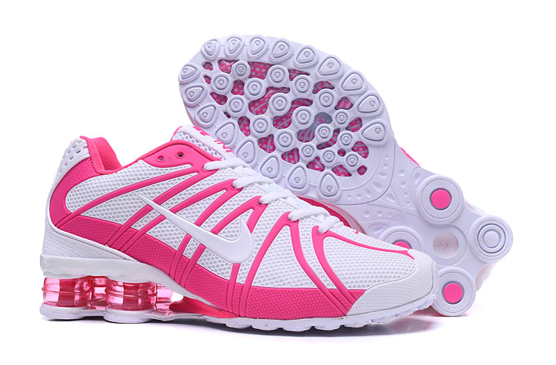 promo code c3b3d 569f8 Nike Air Shox OZ TPU Women Running shoes White Pink - Febbuy