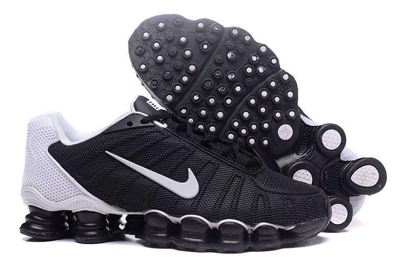 8a99c12c8666 Nike Air Shox TLX 0018 TPU black Silver men Shoes - Febbuy