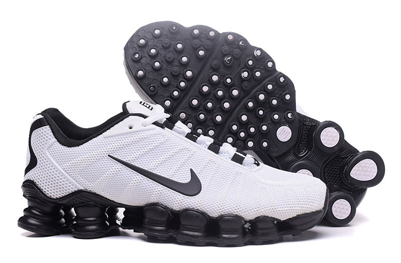 0867385f52ae Nike Air Shox TLX 0018 TPU white black men Shoes - Febbuy