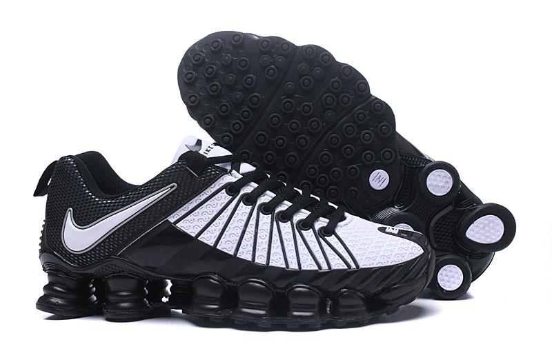new concept e1cec 605d2 Nike Shox TLX Men Casual Style Shoes TPU Black White
