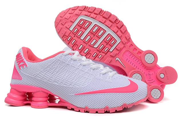 Nike Shox Turbo 21 KPU Women Shoes Pure White Pink - Febbuy 0fb521707
