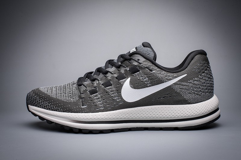 2102a960bf0 Prev Nike Air Zoom Vomero 12 Black Grey Running Shoes Lace Up 863762-010.  Zoom