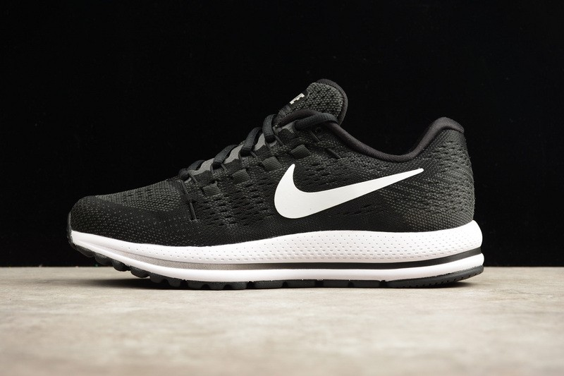 1d13f8b2ec2 Prev Nike Air Zoom Vomero 12 Black White Running Shoes Lace Up 863762-001.  Zoom