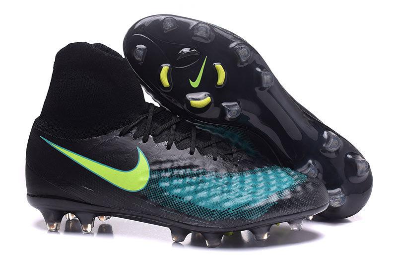 huge discount d6f7f fcfd8 Prev Nike Magista Obra II FG Soccers Shoes ACC Waterproof Black Green Yellow.  Zoom