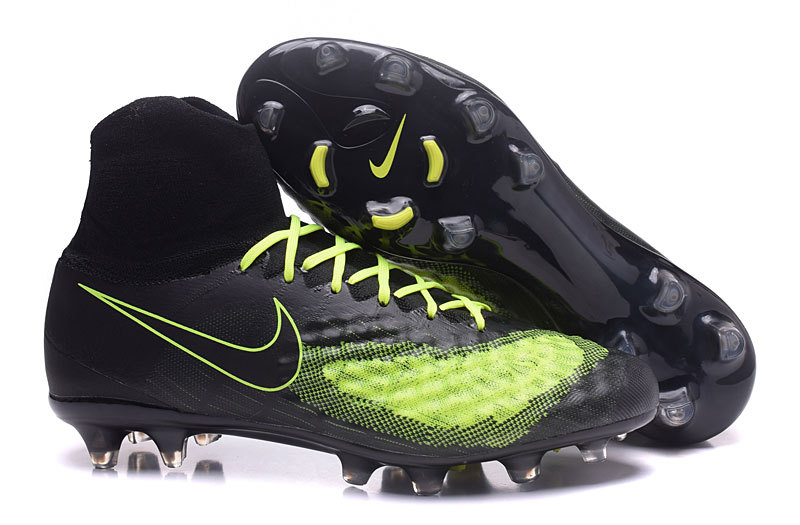 premium selection ec1dc 8fa4c Prev Nike Magista Obra II FG Soccers Shoes ACC Waterproof Black Yellow. Zoom