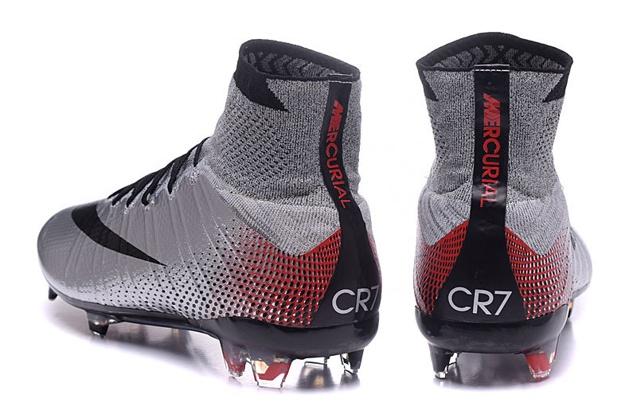 34a1c808553c ... Nike Mercurial Superfly CR7 Quinhentos FG Ronaldo Vapor Soccers  Metallic Silver 839622-006 ...