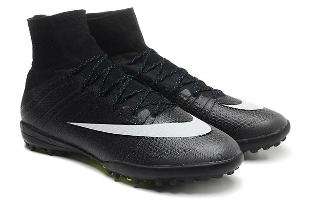 Nike Mercurial Vapor X CR TF Black White Hyper Turq Football Boots Soccers  641858 4c3b7fce4