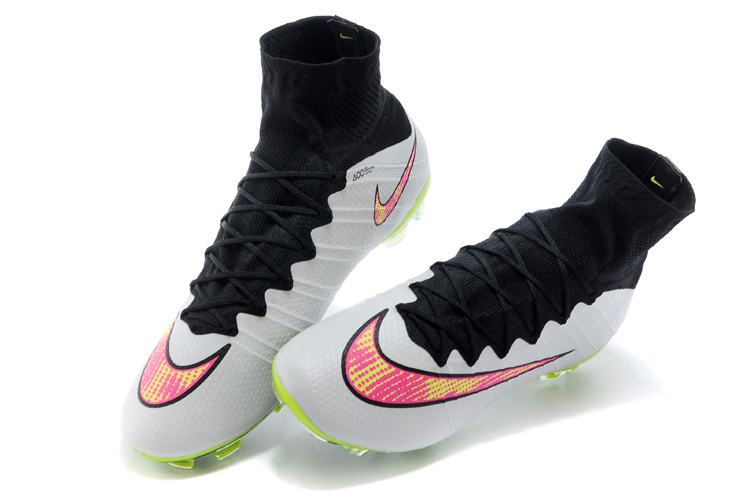 official photos 285cf 97c84 Nike Mercurial Superfly FG ACC Soccer Cleats White Black Volt Pink  641858-170