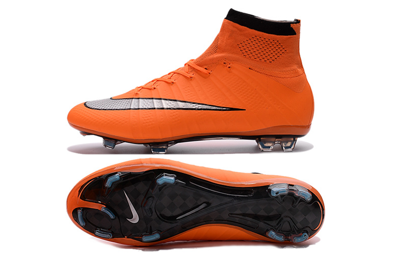 innovative design 0f6cf 132cc Nike Mercurial Superfly FG Mango Soccer Cleats 641858-803 ...