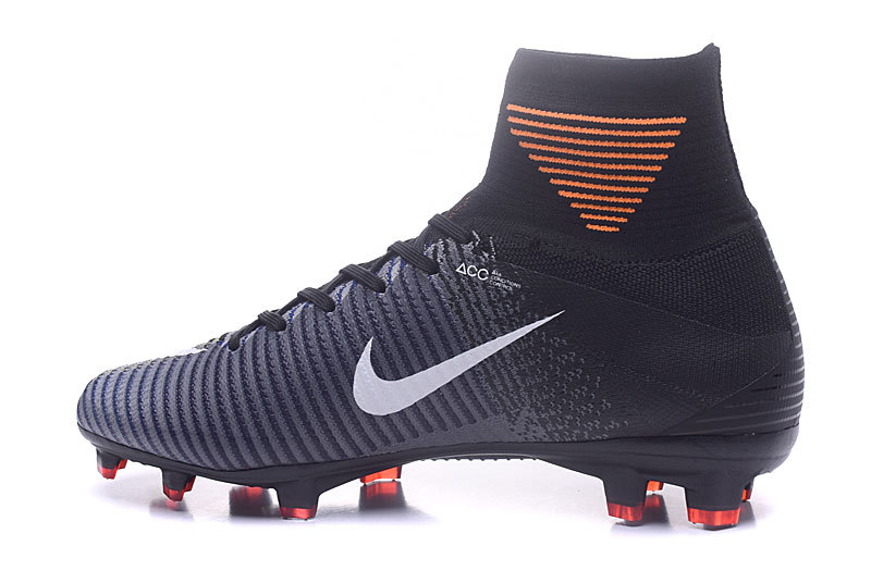 the latest 8ab73 d1621 Nike Mercurial Superfly V FG ACC High Soccers Football Shoes Seaweed Black  ...