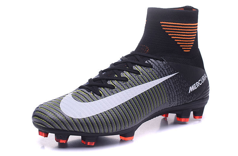 6d07903c5 ... Nike Mercurial Superfly V FG ACC High Soccers Football Shoes Seaweed  Black ...