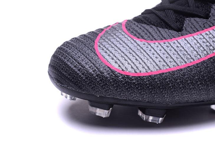 5f5835483ca ... Nike Mercurial Superfly V FG Pitch Dark Pack ACC Men Football Shoes  Soccers Black Pink Blast