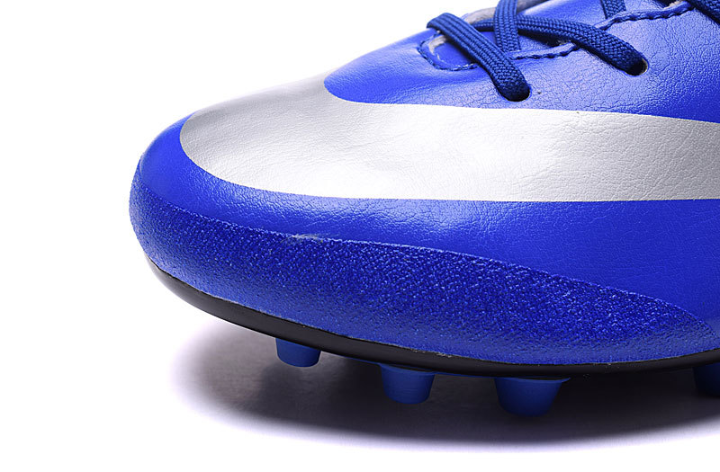 183dc8651 ... Nike Mercurial Victory V CR7 AG Soccers Cleat Cristiano Ronaldo Royal  Blue 684878-404