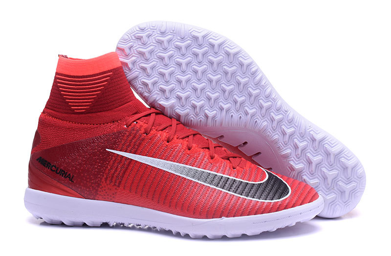 bc3a019de295 Prev NIke Mercurial X Proximo II TF ACC waterproof high red black white  football shoes