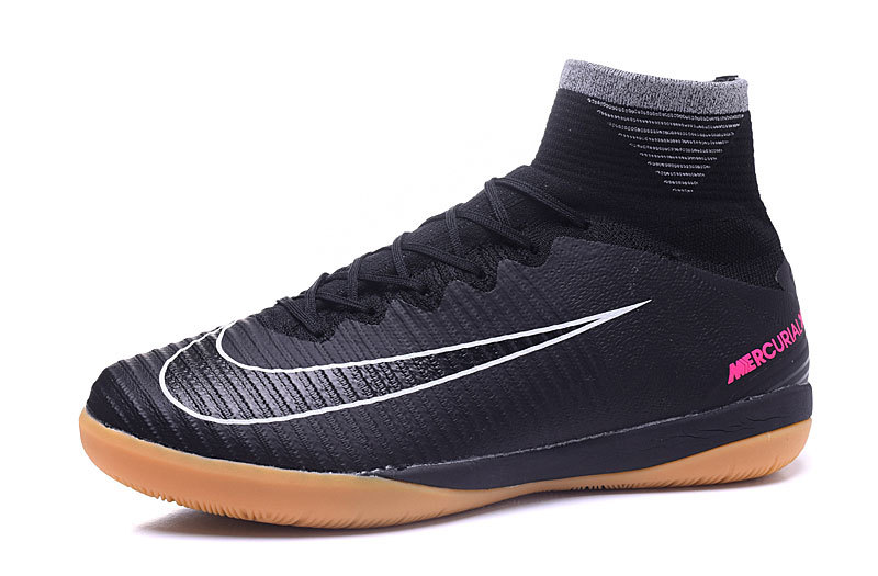 fecdfc1e9c47 ... Nike Mercurial X Proximo II IC ACC MD Football Shoes Soccers Black Light  Brown ...
